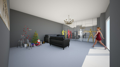 sala ainda em andamento  - Modern - Living room - by Rosiane 100