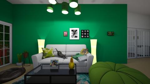 urban living room - Living room - by muffinandpeach