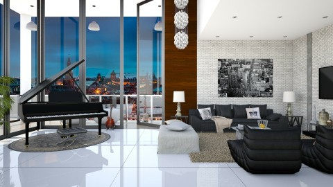 Penthouse for Bieber - Glamour - by DeborahArmelin