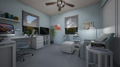 For SherryDN VI - Eclectic - Office - by Theadora