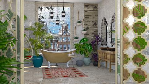urban jungle bathing - Global - Bathroom - by kitty