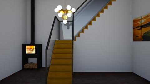 Stairs - Rustic - by Twerka