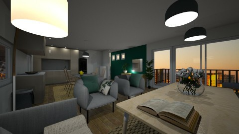 Apartment Redecoration - by Yomona