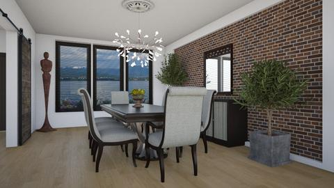 Waterfront II - Eclectic - Dining room - by Theadora