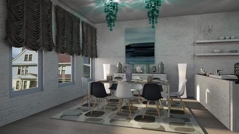 Catching Azure - Modern - Dining room - by Lifandus