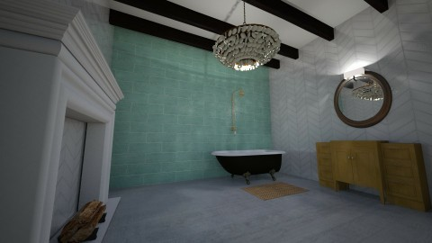bathroom - Bathroom - by thriftydesigns