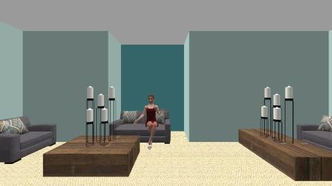 Wooden Bliss - Modern - Living room - by fun_styler