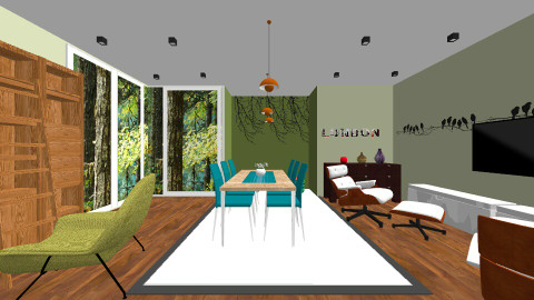Green - Living room - by DMLights-user-1001079