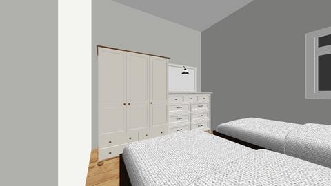 Spare Bedroom - Bedroom - by plotinga