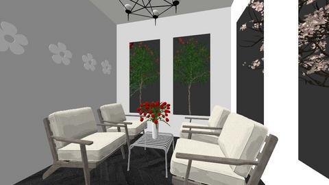 simple house - Living room - by Brina Yunio