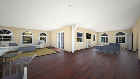 Madison House - Living room - by dsigndoll