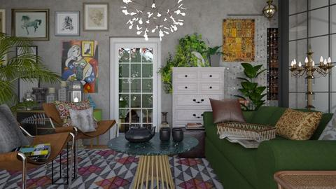 boho plant 2 - Living room - by margesimpson2000