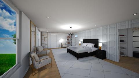 Suite Master de Luxo - Glamour - Bedroom - by estefani_hellen