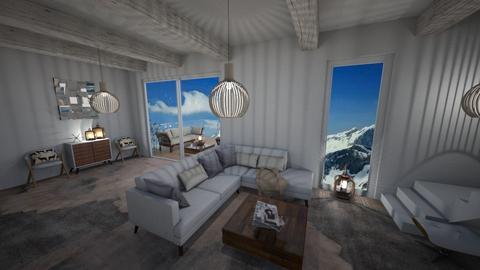 Durmitor Suite III - Minimal - Living room - by Daria Marienko