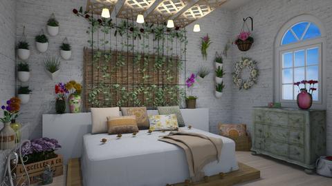 Flower Child  - Bedroom - by stmaiorino