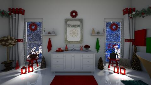 16 Christmas Bathroom - by mz_little_bit