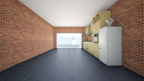 open plan apartment - by Jack Bodington