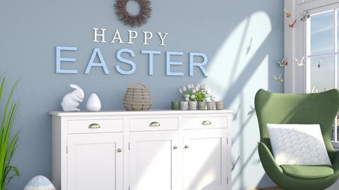 Easter corner - by jagwas