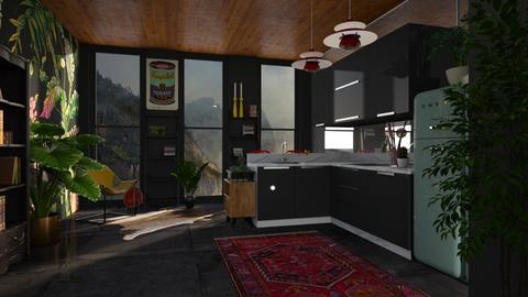 sala de biblioteca - Classic - Living room - by jjannnii