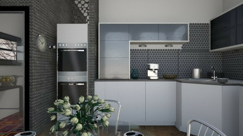 UMK - Modern - Kitchen - by milyca8