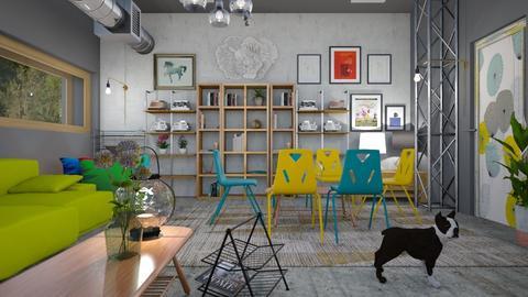 Cellar Apartment - Living room - by ZuzanaDesign
