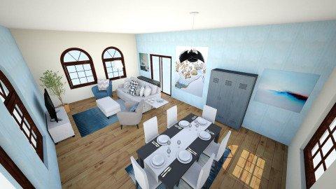 Open Floor - Living room - by Jadyn Allen_494