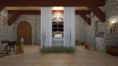 Fairytale Bedroom - Bedroom - by rebellure