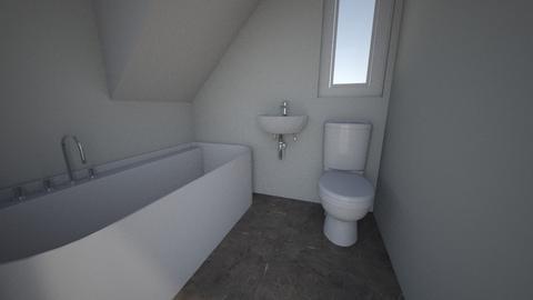 bathroom house - Bathroom - by Agnieszka Do