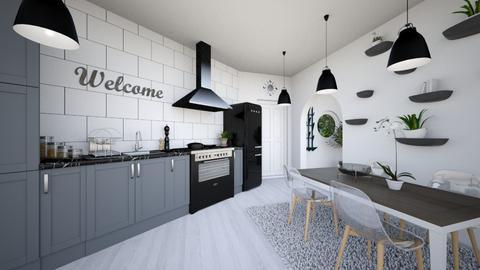 Kitchen - Minimal - Kitchen - by aggelikimar