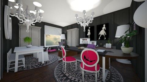 Home Office for Kelly - Modern - Office - by camilla_saurus