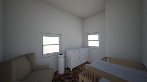 Nursery 1 in small room - Kids room - by mahony83