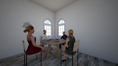 Dinner Meeting - Modern - Dining room - by 23ZKeister