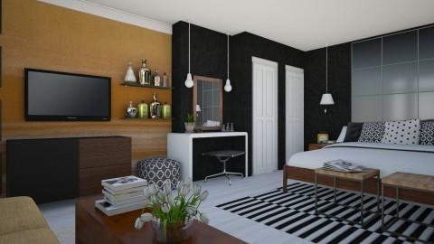 Bedroom redesign - Modern - Bedroom - by dianemonton11
