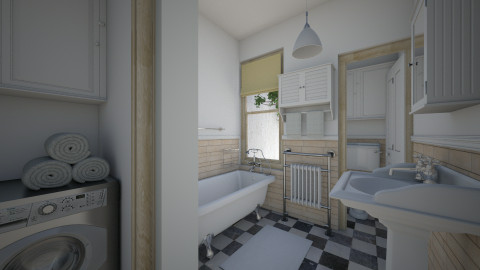 Village Apt Bath - Eclectic - Bathroom - by russ