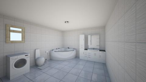 Baie whiteblack - Rustic - Bathroom - by Ionut Corbu