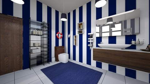 Nautical Bathroom - Bathroom - by TaisiBird2019