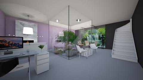 glass room - Garden - by landen russo