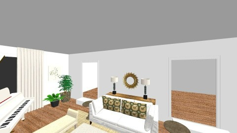 Arlington Lowe v1 - Living room - by littlewillowhome