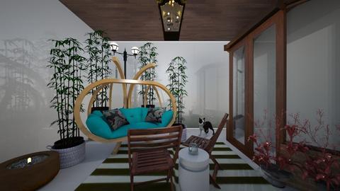 Porch - Garden - by jademydeco