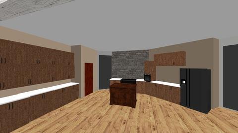 Miller Kitchen Great Room - Rustic - by jgdavisjgdavis