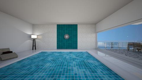 swimming pool - by katarinalaaksonen