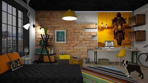 Quarto estiloso - Bedroom - by Alecio