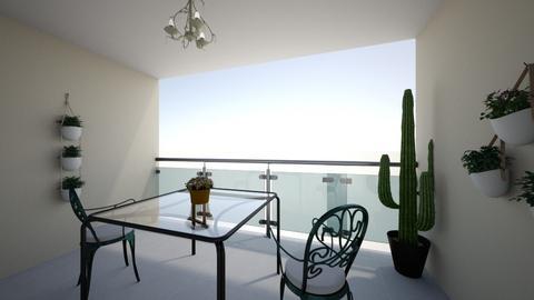 Terrace - Living room - by Vesi Krumova