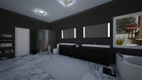 dream bathroom - Bathroom - by Grenadier