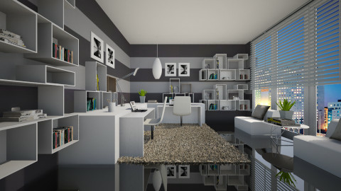 Study For 2 - Modern - Office - by channing4
