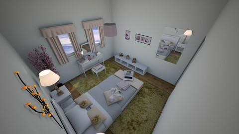 Tiny bedroom - Feminine - Bedroom - by CARMEND70