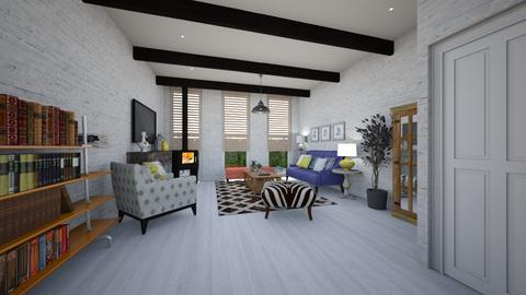 Template room - Living room - by mire roig