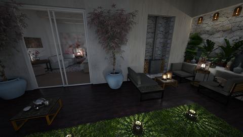 Garden Design I - Minimal - Garden - by Daria Marienko