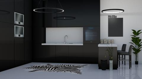 Sleek Kitchen - by millerfam