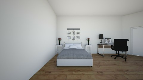 my new room - Modern - Bedroom - by brooklyn1019